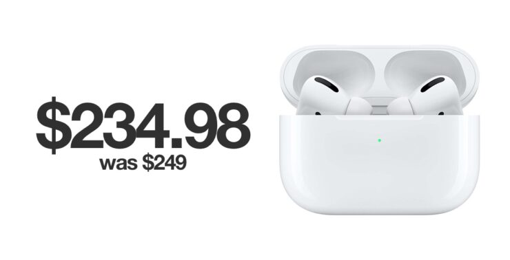 Save $15 on AirPods Pro this Black Friday 2019
