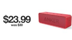 Anker Soundcore Bluetooth speaker discounted today