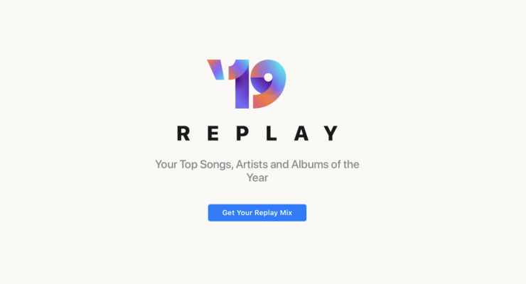 Apple Music Replay Mix