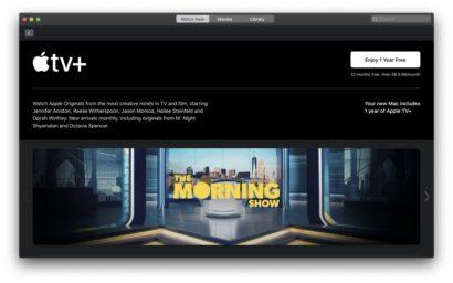 Apple TV+ free subscription 1