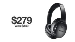Bose QC35 II discounted for Black Friday 2019