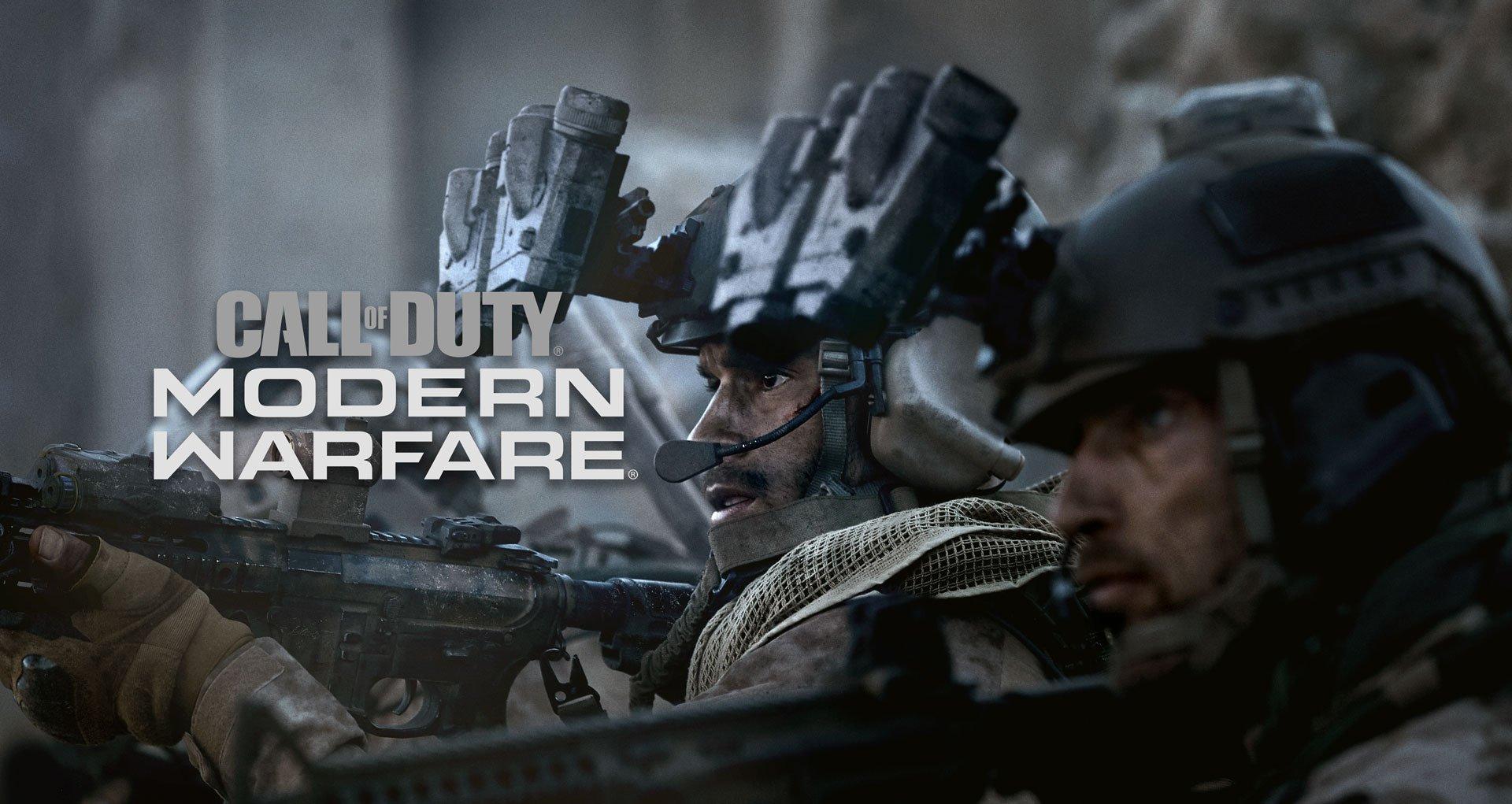 Modern Warfare 2019 Box Art