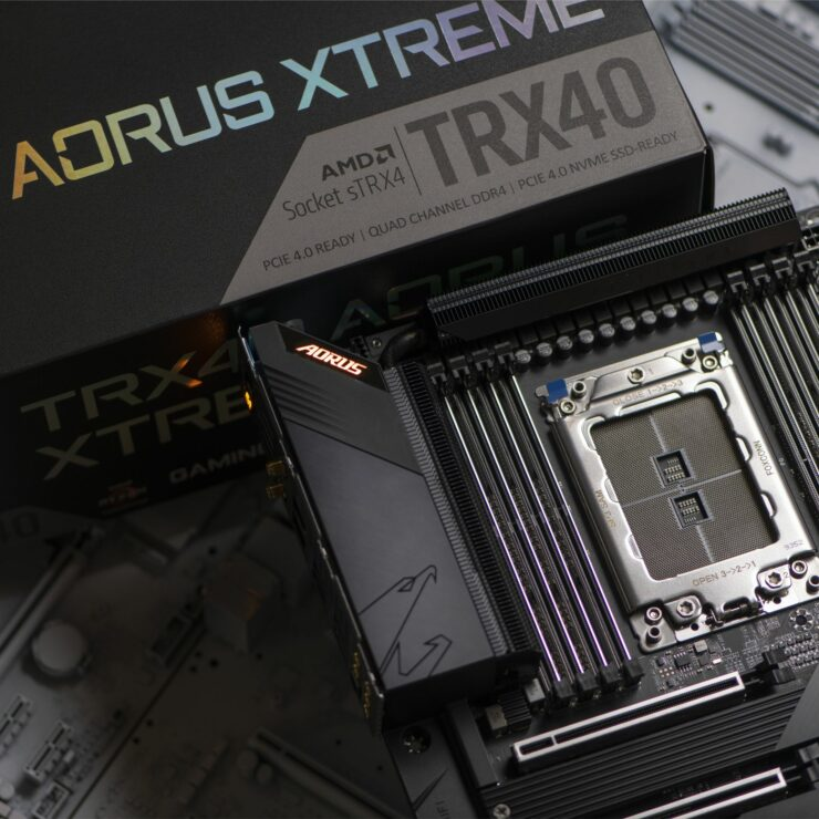 AMD sTRX4 Socket TRX40 Motherboard