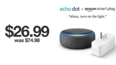 Echo Dot + Smart Plug bundle available for just $26.99 on Black Friday 2019