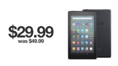Amazon Fire 7 Tablet discounted for Black Friday