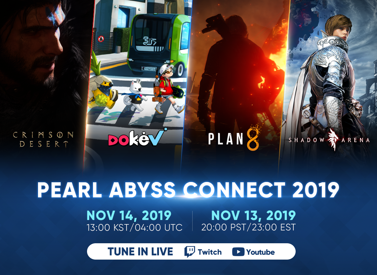 Pearl Abyss Lineup