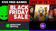 Digital Black Friday PC Games deals