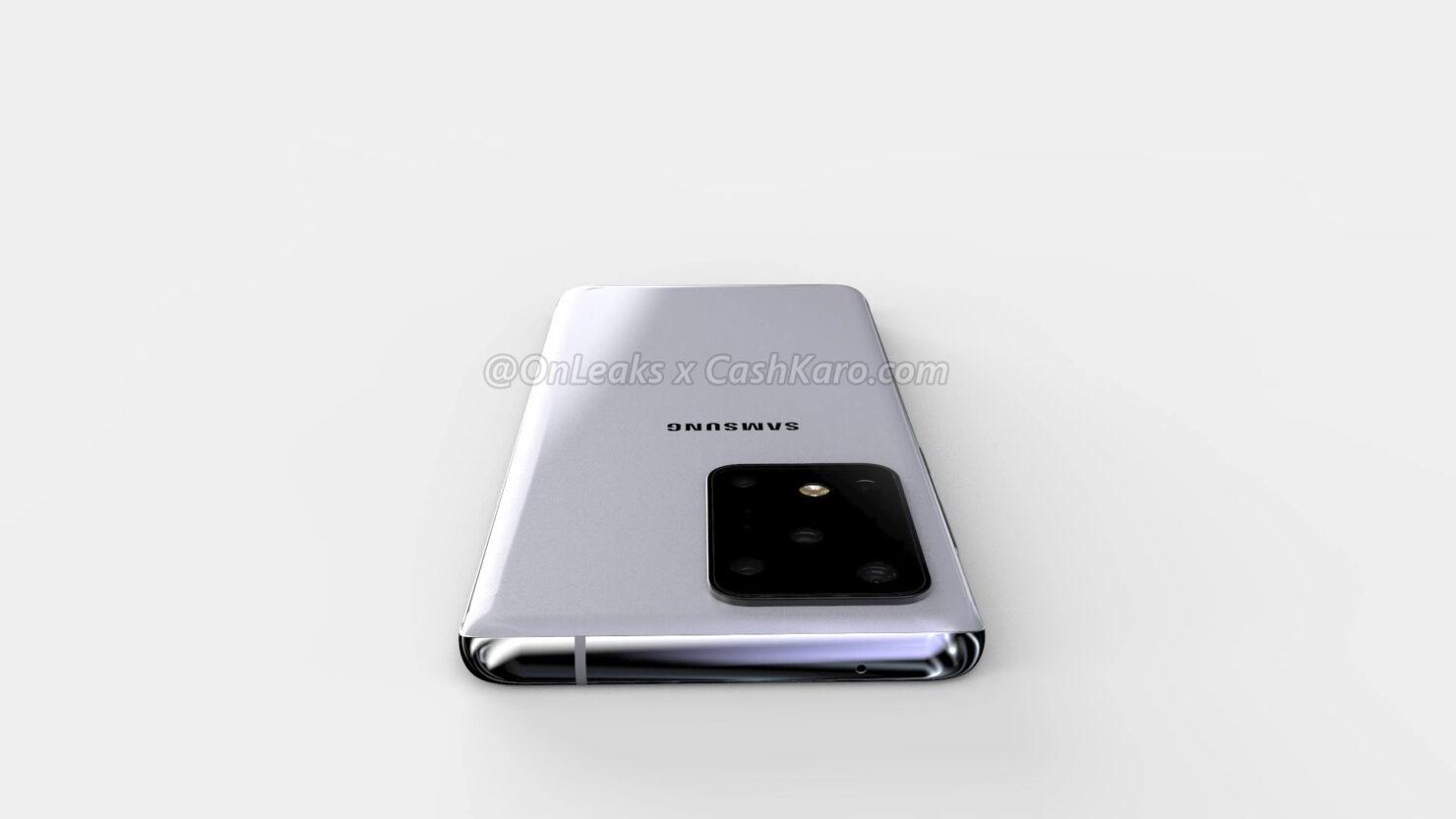 تسريب عن Galaxy S11 Plus من ناحية التصميم وحجم الشاشة والكاميرا 1