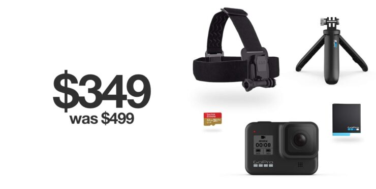 GoPro HERO8 Holiday Bundle discounted for Black Friday 2019