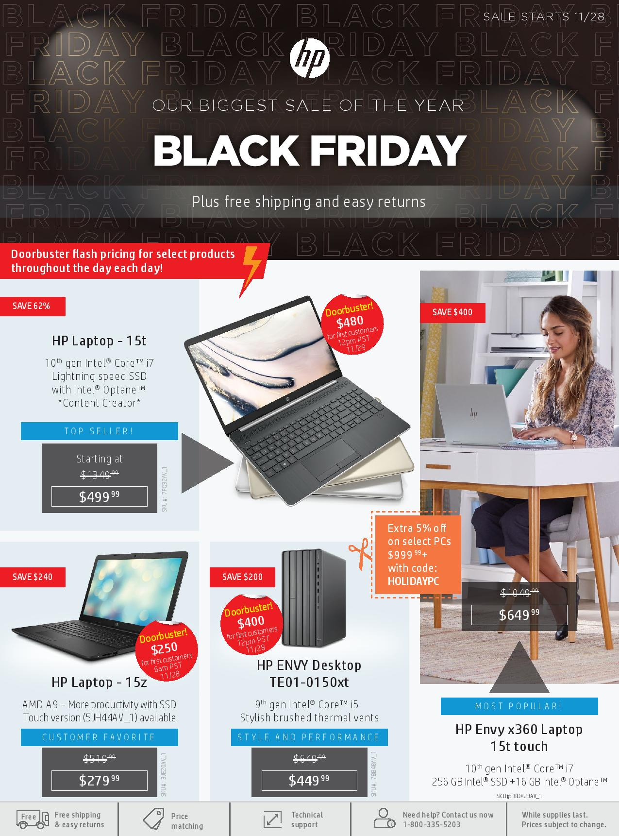 Hp S Black Friday 2019 Sale Is Live Ad Scan Doorbuster Flash Sales And Discount Codes Inside