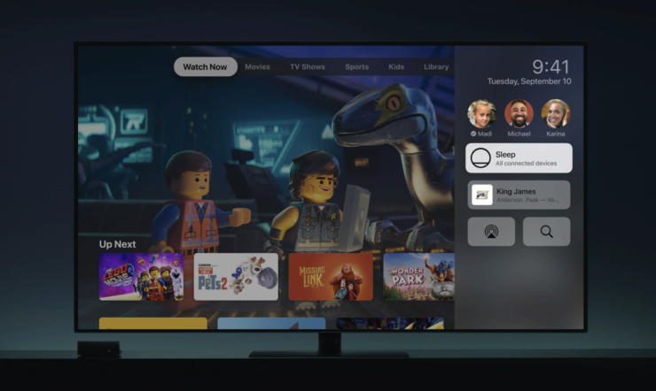 Multi User Accounts on Apple TV