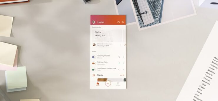 Office app for iOS and Android