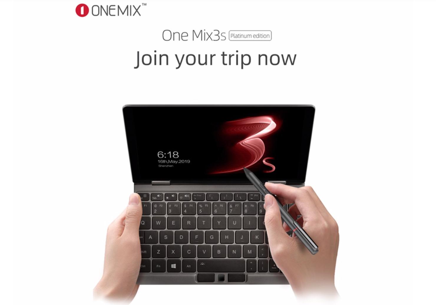 windows 10 OneMix 3S Platinum Edition