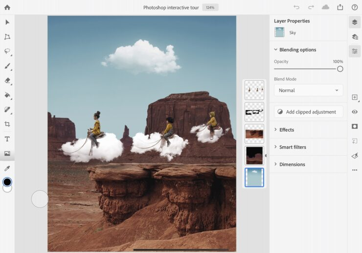 Photoshop for iPad 1