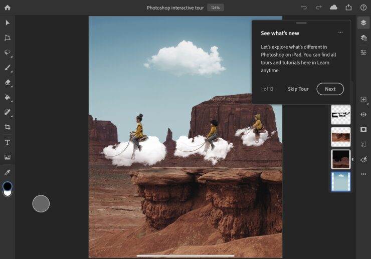 Photoshop for iPad 3
