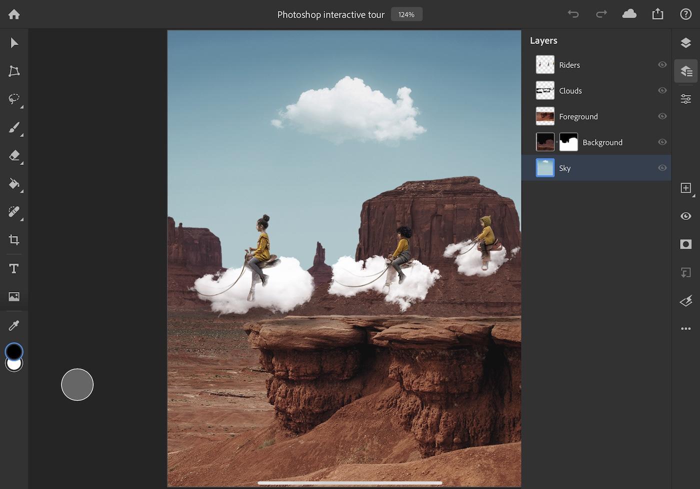Photoshop for iPad 4