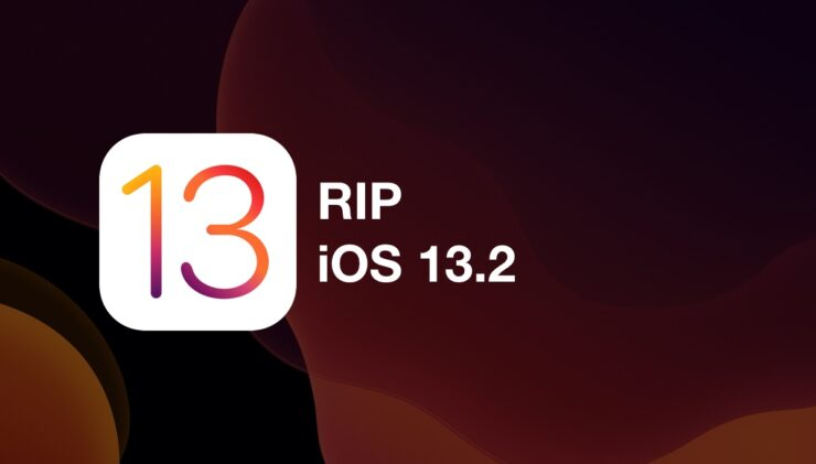 You can no longer downgrade iOS 13.2.2 to iOS 13.2