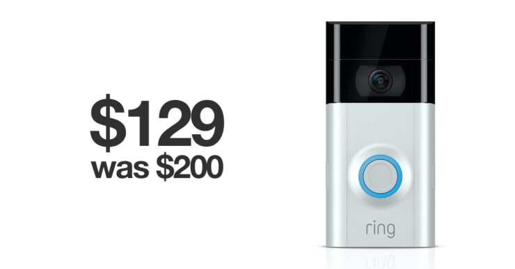 ring video doorbell 2 early Black Friday deal