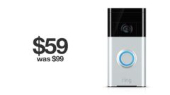 Ring Video Doorbell discounted to $59.99 for Black Friday
