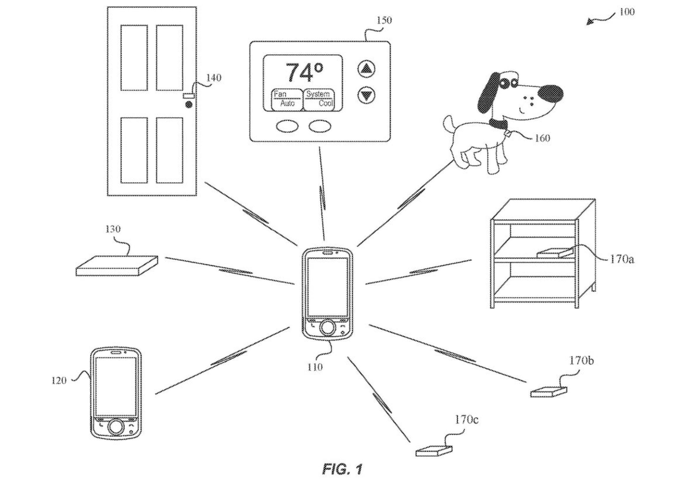 Apple UWB patent