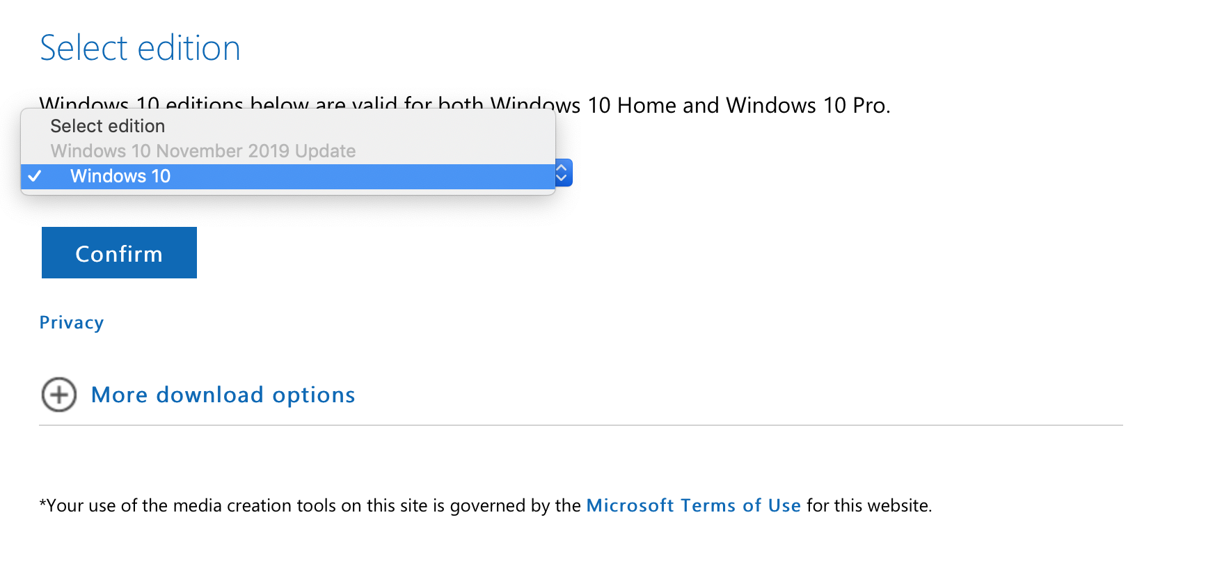 Direct Download Windows 10 1909 Iso Files 32 Bit 64 Bit Officially