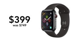 Series 4 on sale for just $399