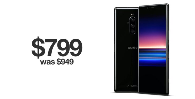 Sony Xperia 1 discounted for Black Friday 2019