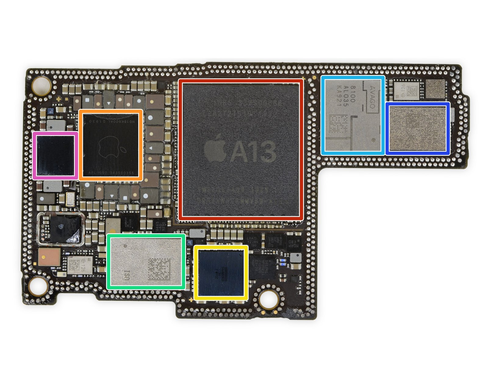 Skyworks chip on iPhone board