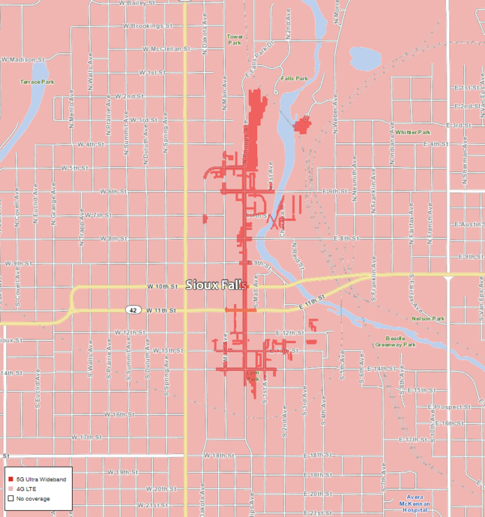 Verizon 5G Coverage Map Shows Exactly Where Its Networks Are Active