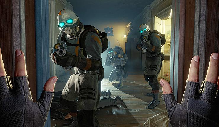Half-Life Alyx Non VR Mod