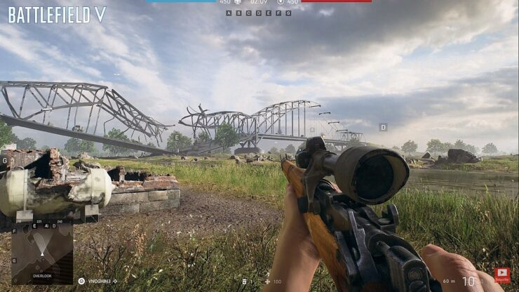 DICE Battlefield V Destruction