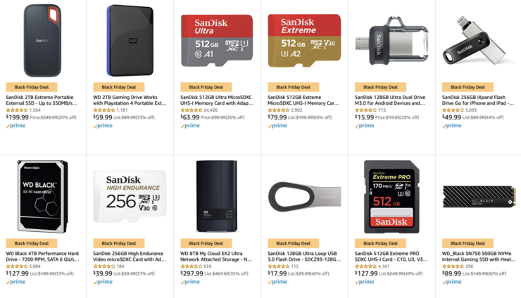 Massive SanDisk and WD sale for Black Friday 2019 is now live