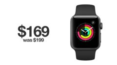 Apple Watch series 3 discounted for black Friday 2019