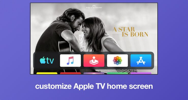 How to Customize Apple TV Home Screen