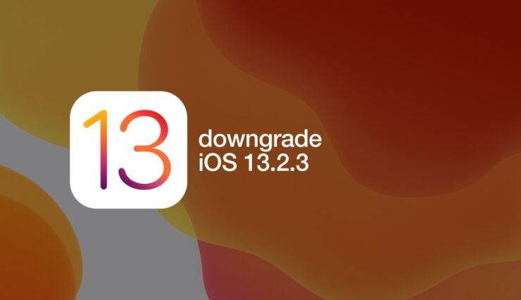 downgrade iOS 13.2.3 and jailbreak using Checkra1n