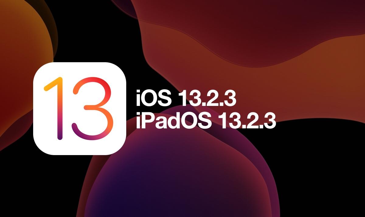 Výsledek obrázku pro iOS 13.2.3