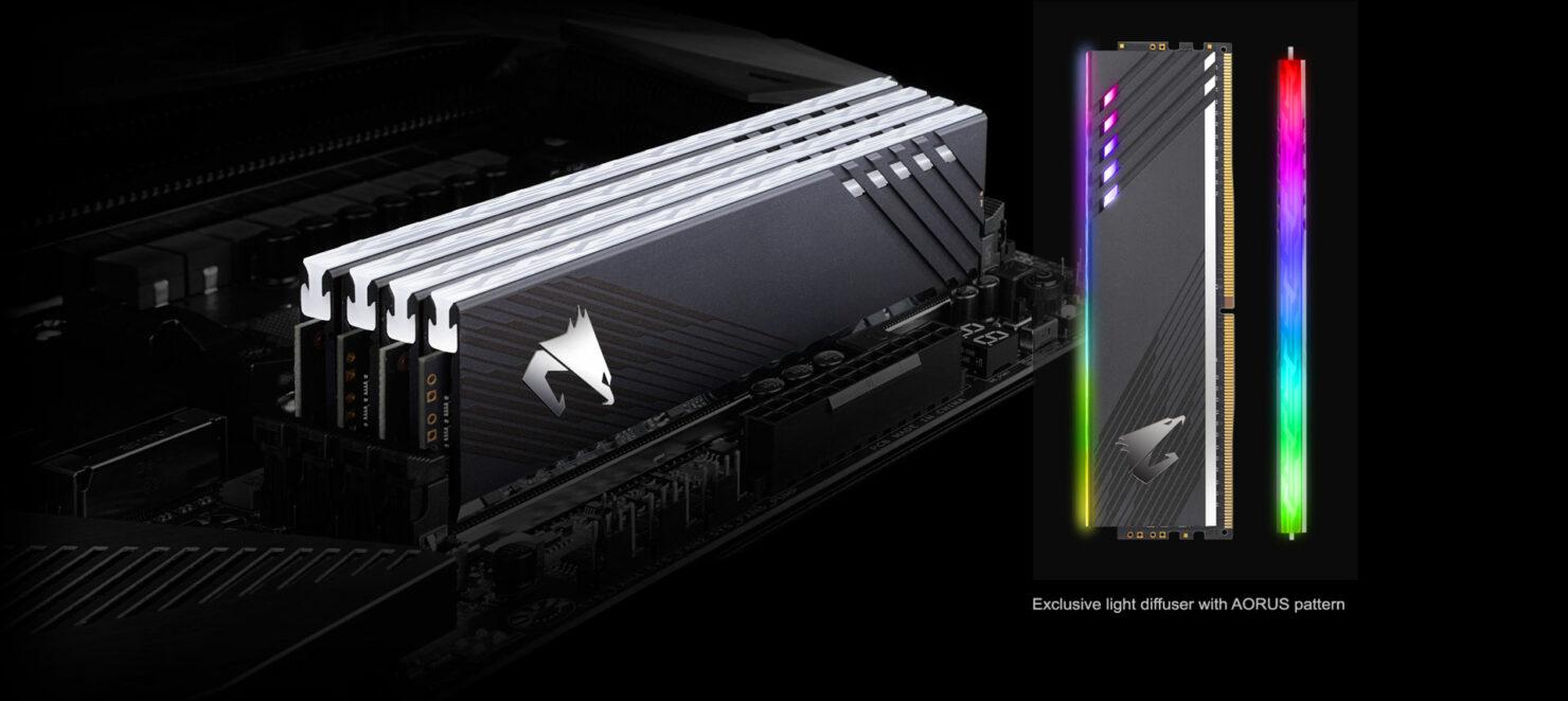 AORUS RGB Memory Tech Specs