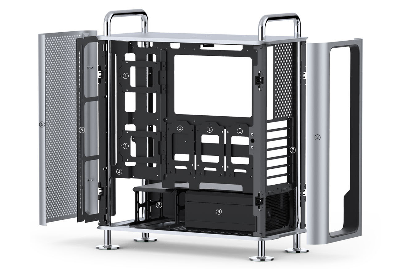 Dune PRO Case - For PC Gamers Who Want Mac's Style