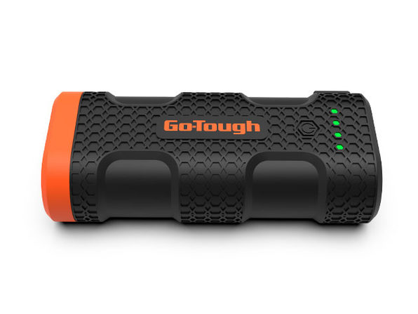 GO-TOUGH Power Bank with LED Flashlight