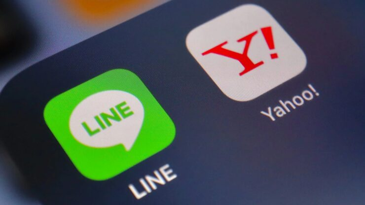 Yahoo Japan Line SoftBank
