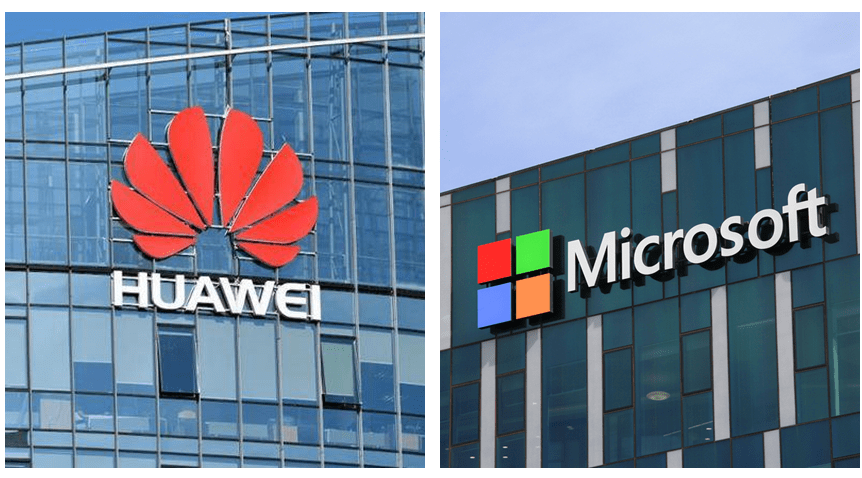 Huawei Microsoft