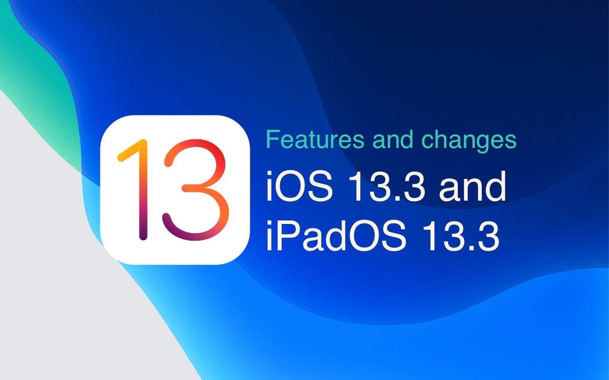 iOS 13 3 beta 4 & iPadOS 13 3 beta 4 [features and changes]