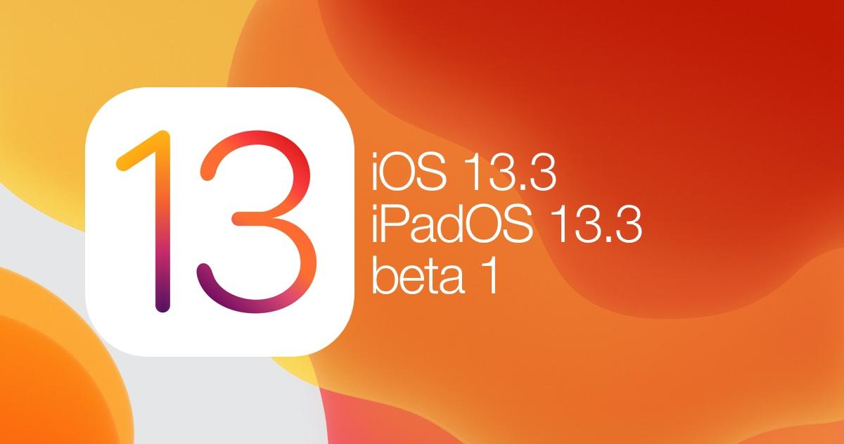Výsledek obrázku pro ios 13.3 beta 1