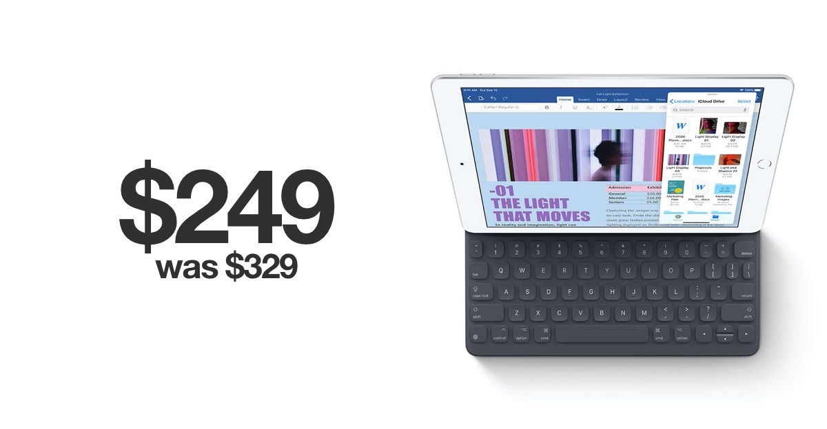 32gb Ipad 7 Drops To 249 For Black Friday 2019 128gb Model For 329