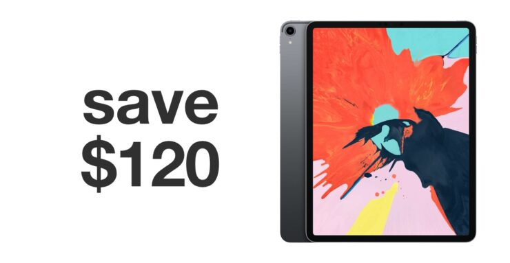 12.9-inch iPad Pro discounted for black friday 2019
