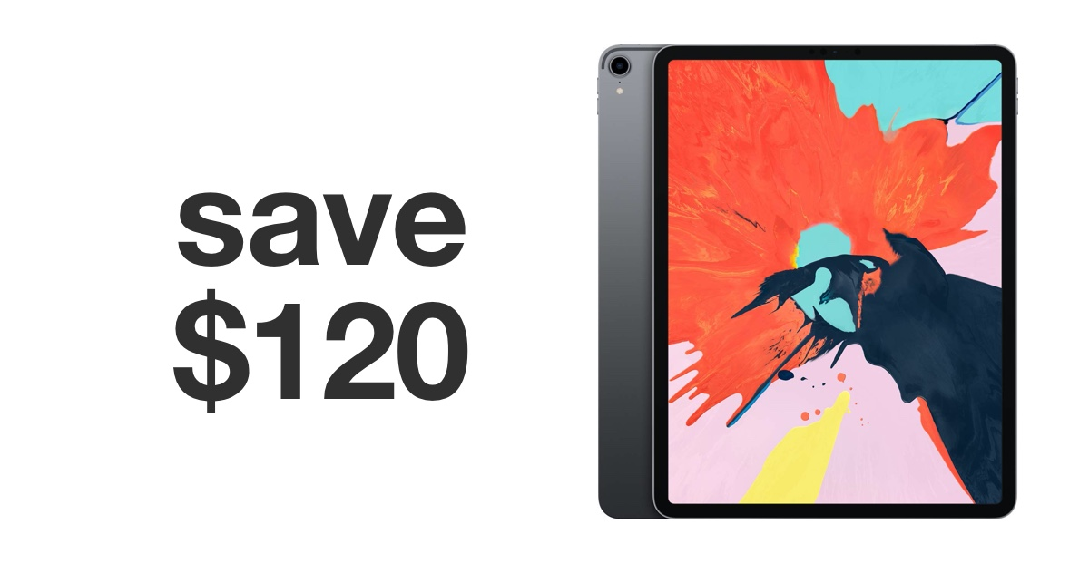 12 9 Inch Ipad Pro Is Up To 120 Off For Black Friday 2019