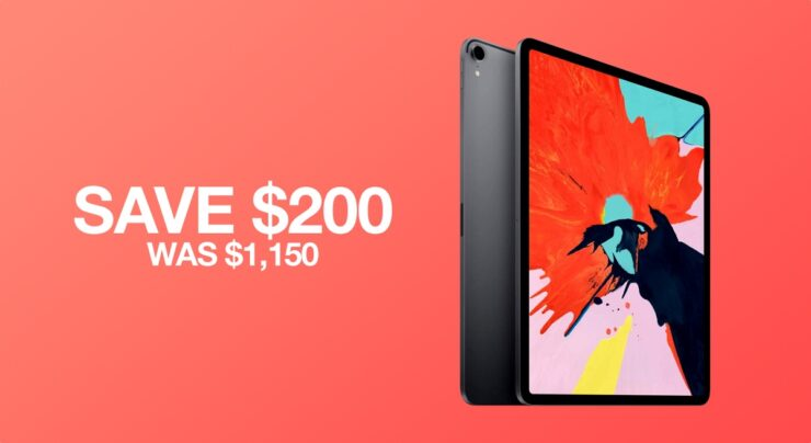 2018 iPad Pro on sale, save $200 today