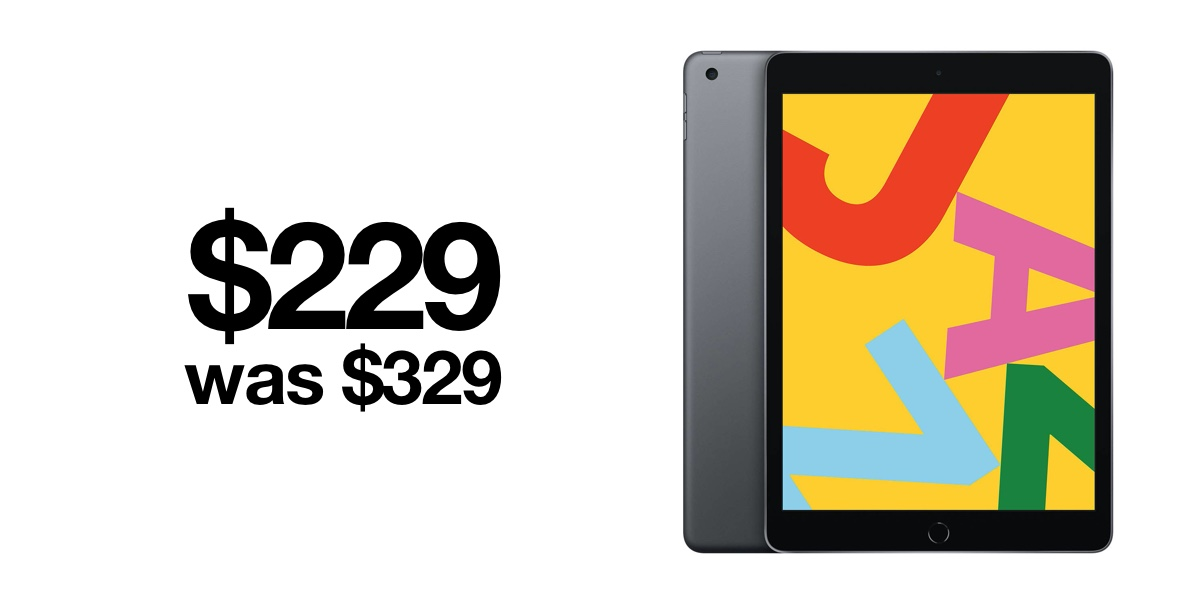 Insane Deal 10 2 Inch Ipad 7 Drops To Just 229 For Cyber Monday