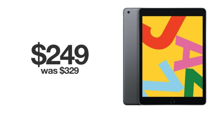 iPad 7 hits all time low price for Black Friday 2019