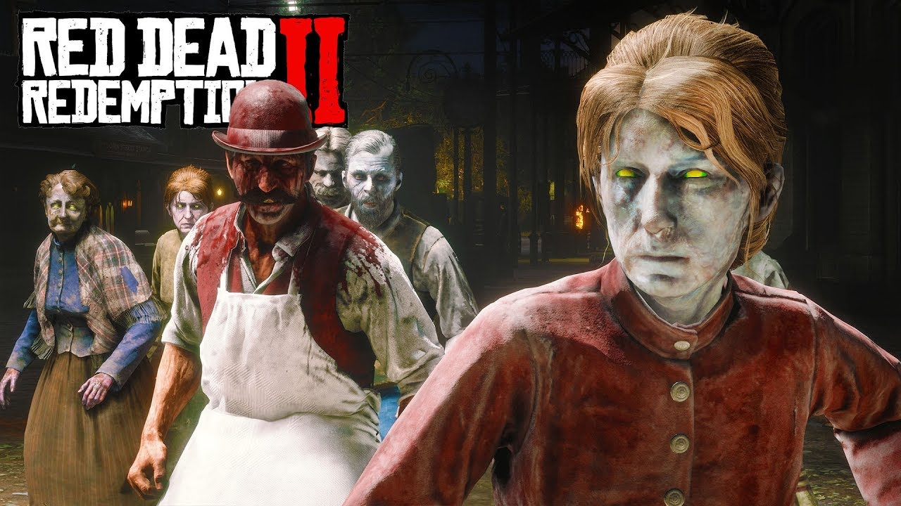 RDR2 Zombies mod